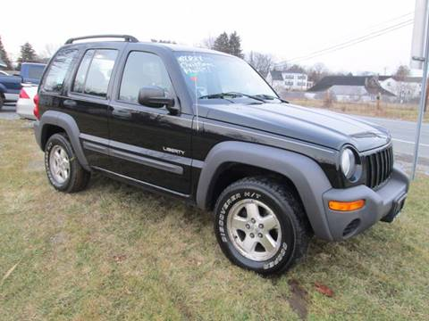 2004 Jeep Liberty for sale at Saratoga Motors in Gansevoort NY