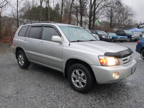 2005 Toyota Highlander for sale at Saratoga Motors in Gansevoort NY