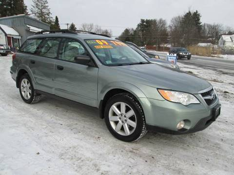 2009 Subaru Outback for sale at Saratoga Motors in Gansevoort NY
