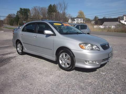 2007 Toyota Corolla for sale at Saratoga Motors in Gansevoort NY