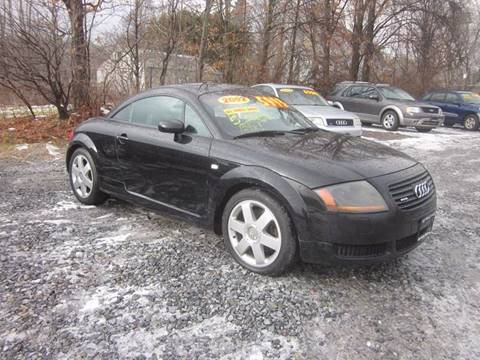 2002 Audi TT for sale at Saratoga Motors in Gansevoort NY