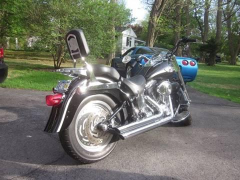 2003 Harley-Davidson Fatboy FLSTFI for sale at Saratoga Motors in Gansevoort NY