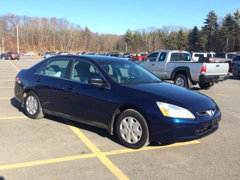 2004 Honda Accord for sale at Saratoga Motors in Gansevoort NY