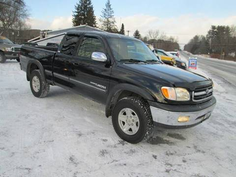 2002 Toyota Tundra for sale at Saratoga Motors in Gansevoort NY