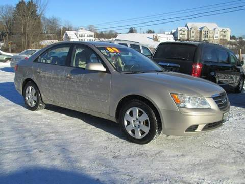 2009 Hyundai Sonata for sale at Saratoga Motors in Gansevoort NY