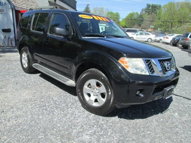 2008 Nissan Pathfinder for sale at Saratoga Motors in Gansevoort NY