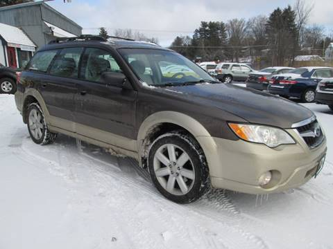 2008 Subaru Outback for sale at Saratoga Motors in Gansevoort NY