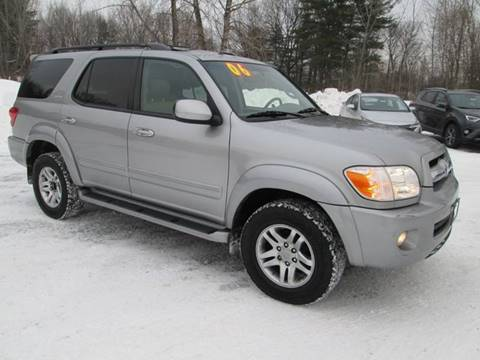 2006 Toyota Sequoia for sale at Saratoga Motors in Gansevoort NY