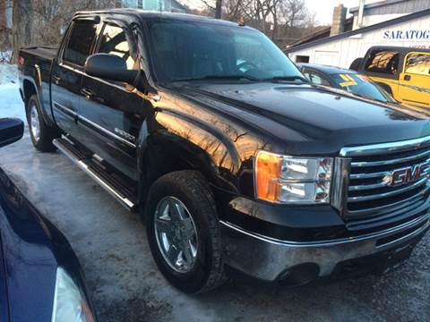 2012 GMC Sierra 1500 for sale at Saratoga Motors in Gansevoort NY