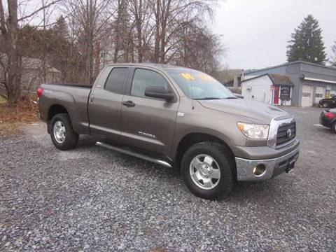 2008 Toyota Tundra for sale at Saratoga Motors in Gansevoort NY