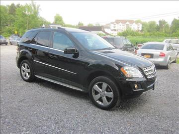 2011 Mercedes-Benz M-Class for sale at Saratoga Motors in Gansevoort NY