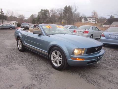 2007 Ford Mustang for sale at Saratoga Motors in Gansevoort NY
