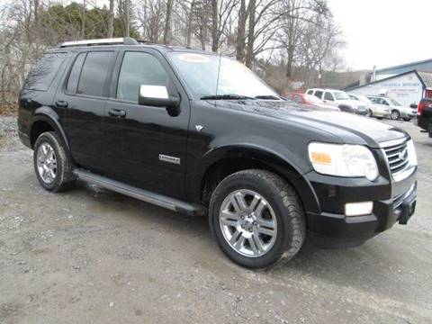 2008 Ford Explorer for sale at Saratoga Motors in Gansevoort NY