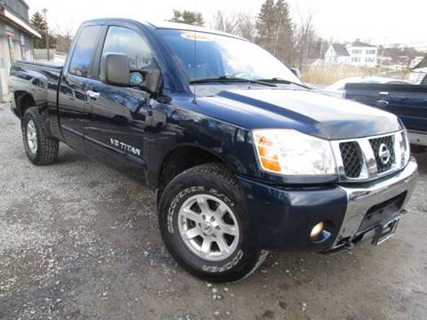 2006 Nissan Titan for sale at Saratoga Motors in Gansevoort NY