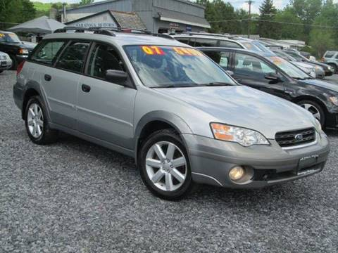 2007 Subaru Outback for sale at Saratoga Motors in Gansevoort NY