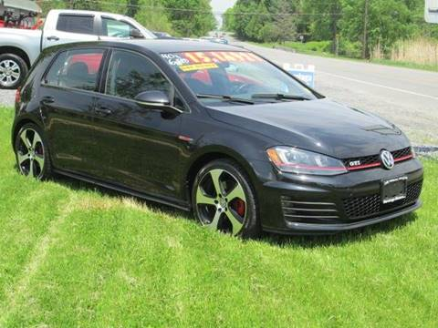 2015 Volkswagen Golf GTI for sale at Saratoga Motors in Gansevoort NY
