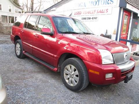 2006 Mercury Mountaineer for sale at Saratoga Motors in Gansevoort NY