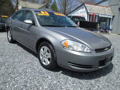 2006 Chevrolet Impala for sale at Saratoga Motors in Gansevoort NY