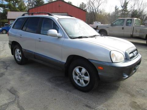 2006 Hyundai Santa Fe for sale at Saratoga Motors in Gansevoort NY