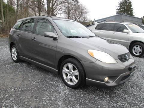 2007 Toyota Matrix for sale at Saratoga Motors in Gansevoort NY
