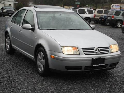 2003 Volkswagen Jetta for sale at Saratoga Motors in Gansevoort NY