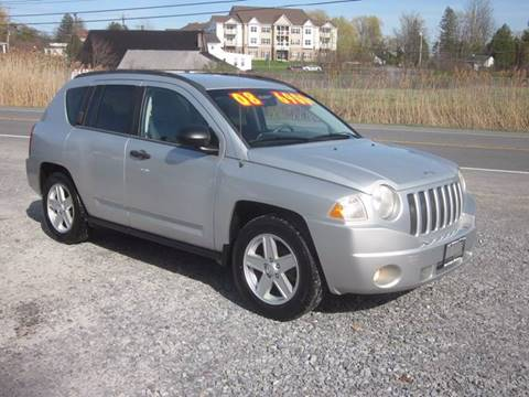 2008 Jeep Compass for sale at Saratoga Motors in Gansevoort NY