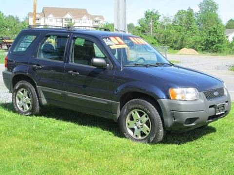 2004 Ford Escape for sale at Saratoga Motors in Gansevoort NY
