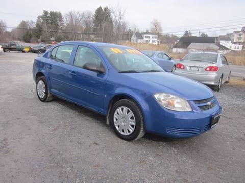 2008 Chevrolet Cobalt for sale at Saratoga Motors in Gansevoort NY