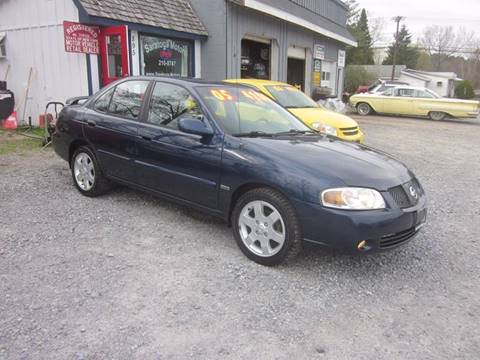 2005 Nissan Sentra for sale at Saratoga Motors in Gansevoort NY