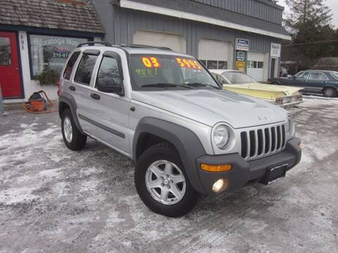 2003 Jeep Liberty for sale at Saratoga Motors in Gansevoort NY