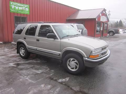 1999 Chevrolet Blazer for sale at Saratoga Motors in Gansevoort NY