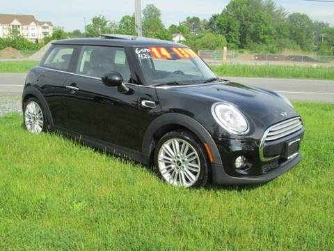 2014 MINI Hardtop for sale at Saratoga Motors in Gansevoort NY