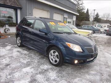 2008 Pontiac Vibe for sale at Saratoga Motors in Gansevoort NY