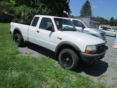 1998 Ford Ranger for sale at Saratoga Motors in Gansevoort NY