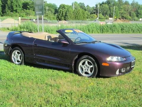 1999 Mitsubishi Eclipse Spyder for sale at Saratoga Motors in Gansevoort NY