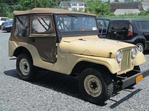1955 Jeep CJ-5 for sale at Saratoga Motors in Gansevoort NY