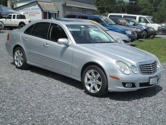 2007 Mercedes-Benz E-Class for sale at Saratoga Motors in Gansevoort NY