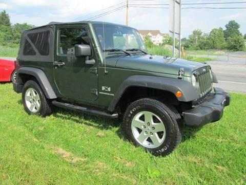 2007 Jeep Wrangler for sale at Saratoga Motors in Gansevoort NY