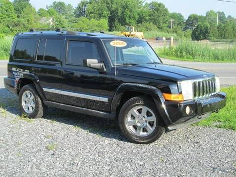 2006 Jeep Commander for sale at Saratoga Motors in Gansevoort NY