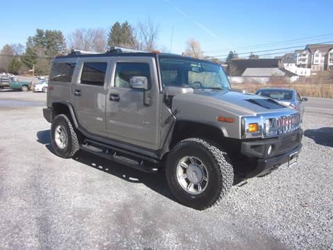 2004 HUMMER H2 for sale at Saratoga Motors in Gansevoort NY