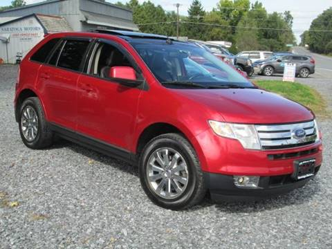 2010 Ford Edge for sale at Saratoga Motors in Gansevoort NY