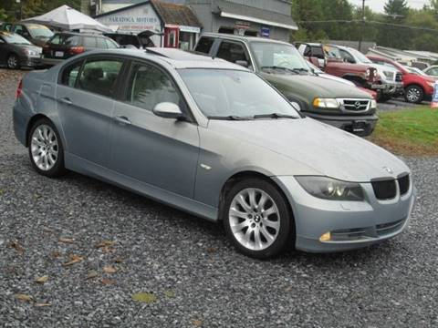 2006 BMW 3 Series for sale at Saratoga Motors in Gansevoort NY