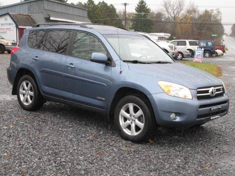 2007 Toyota RAV4 for sale at Saratoga Motors in Gansevoort NY