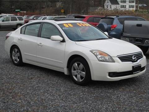 2008 Nissan Altima for sale at Saratoga Motors in Gansevoort NY