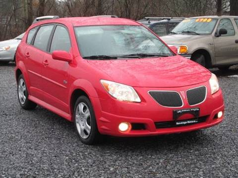 2006 Pontiac Vibe for sale at Saratoga Motors in Gansevoort NY