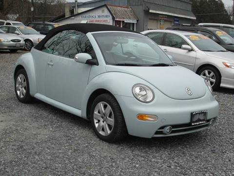 2004 Volkswagen New Beetle for sale at Saratoga Motors in Gansevoort NY