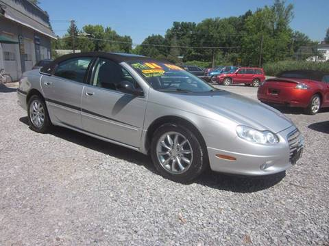 2004 Chrysler Concorde for sale at Saratoga Motors in Gansevoort NY