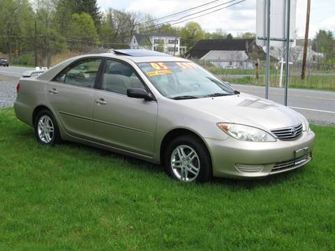 2005 Toyota Camry for sale at Saratoga Motors in Gansevoort NY