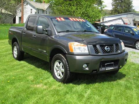 2011 Nissan Titan for sale at Saratoga Motors in Gansevoort NY