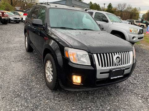 2010 Mercury Mariner for sale at Saratoga Motors in Gansevoort NY